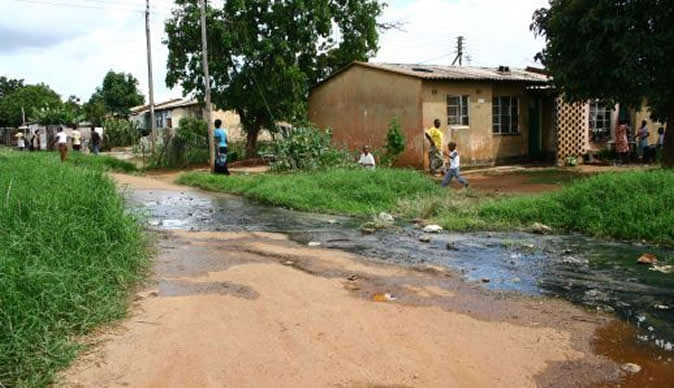 Zimbabwe news the latest and breaking news from for Raw sewage under house