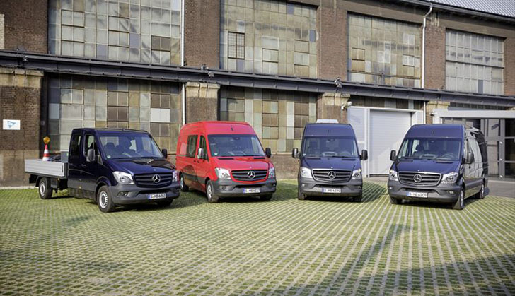 The Mercedes-Benz Sprinter sets the standard for hassle-free operation