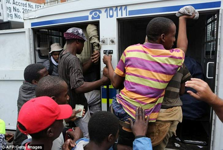 Panic as South Africa deports foreigners enmasse