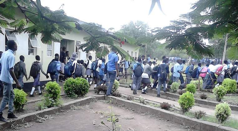 Takwirira High Chisumbanje students staged a powerful demonstration