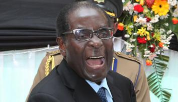 Image result for robert mugabe shouting