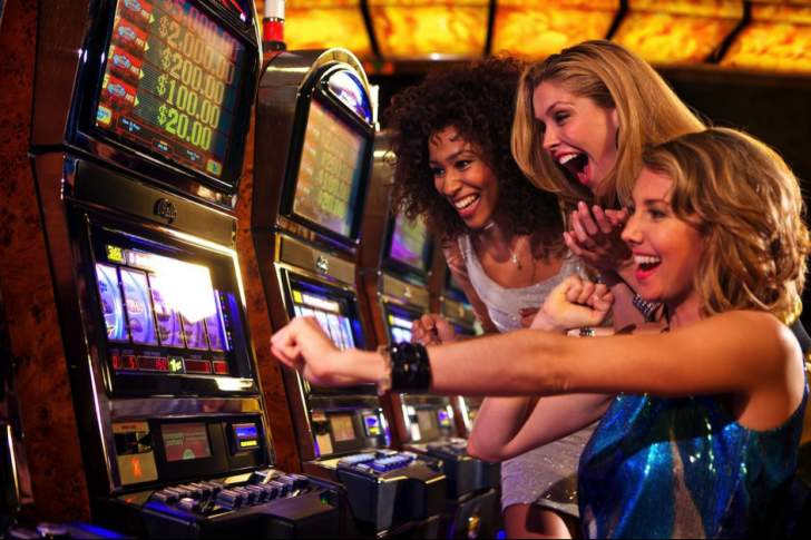 The top four Las Vegas casinos with the most slot games